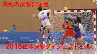 【ハンドボール】The Last 2018年高校総体決勝ダイジェスト!藤代紫水の決死の反撃!【Handball】
