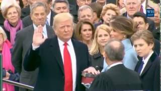 Donald Trump Takes Oath As President Of The United States