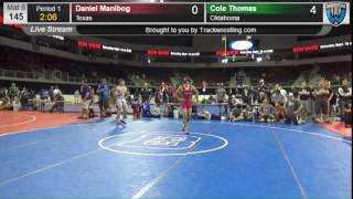 876 Cadet Men 145 Daniel Manibog Texas vs Cole Thomas Oklahoma 8303530104
