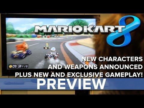 Mario Kart 8 - Eurogamer Preview