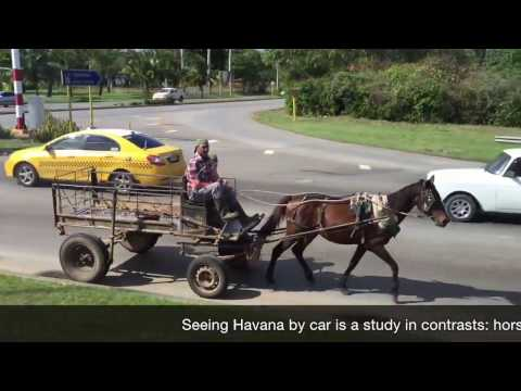 Cuba: Seeing Havana by car is a study in contrasts