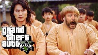 Karate Crash - GTA 5 Funny Moments