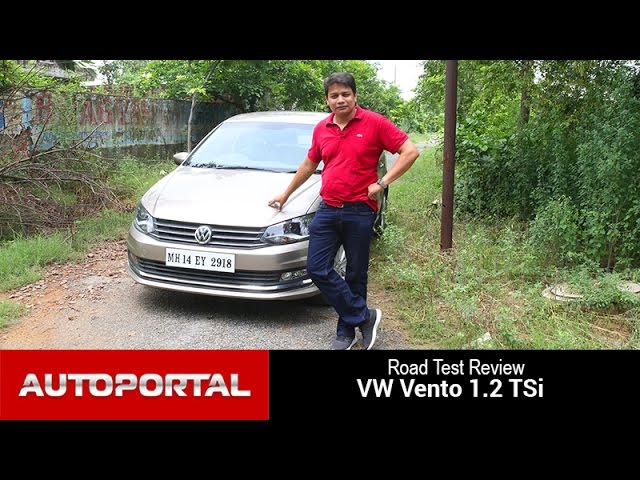 Volkswagen Vento Test Drive Review - Auto Portal