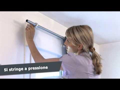 Ridorail ib asta speciale per cassone di persiana avvolgibile youtube - Aste per tende finestre ...
