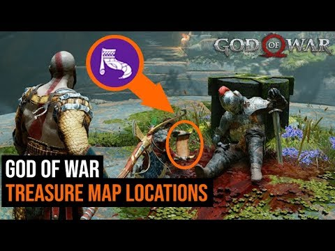God of War: How To Find & Solve All Treasure Map Locations