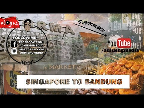 VLOG 4 Part 1 - Bandung & Bandar Lampung - EAT, EAT & SHOP