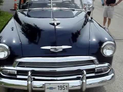 1951 CHEVY DELUXE BELAIR HARDTOP --  2ND YEAR OF THE HARDTOP ROOF