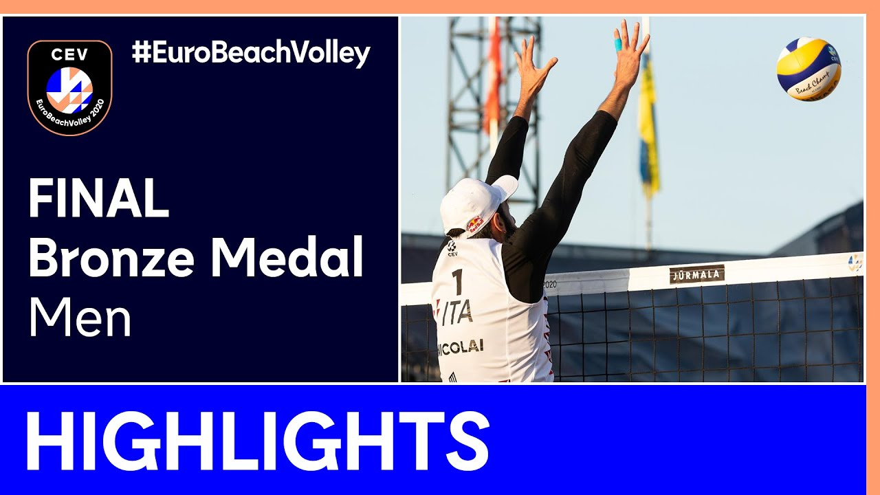 Nicolai/Lupo vs Liamin/Myskiv Bronze Medal Highlights - EuroBeachVolley 2020 Men