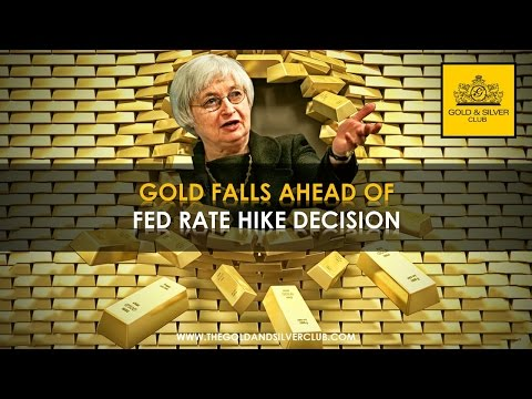 The Gold & Silver Club | Commodities Trading | 151 - Gold Falls Ahead Of Fed Rate Hike Decision