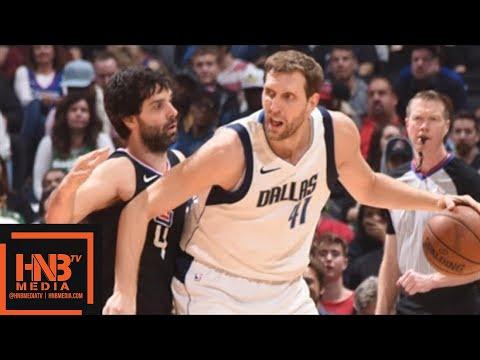 LA Clippers vs Dallas Mavericks Full Game Highlights / Feb 5 / 2017-18 NBA Season