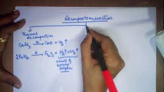 Combination and decomposition reactions class 10 CBSE