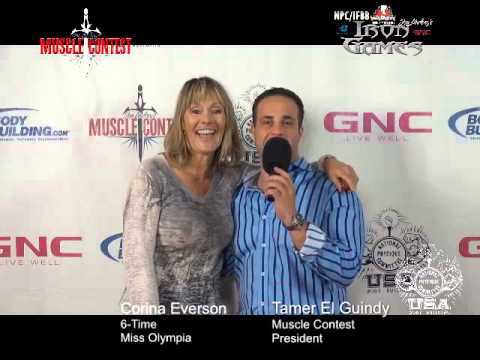 2015 IFBB Pro Iron Games Miss Olympia  Cory Everson