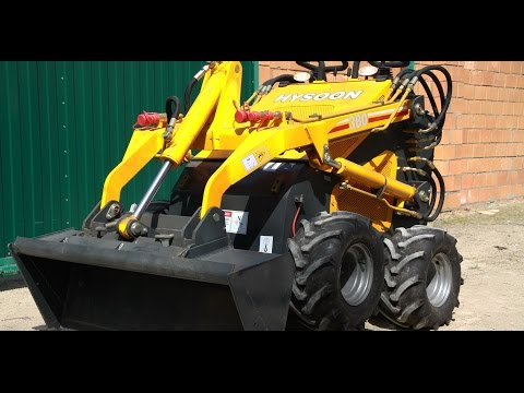 Chinese Hydraulic Mini Tractor Hysoon HY380. Full Review. Affordable Machine For Everybody.