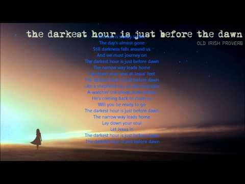 Emmylou Harris The darkest hour.wmv with lyrics