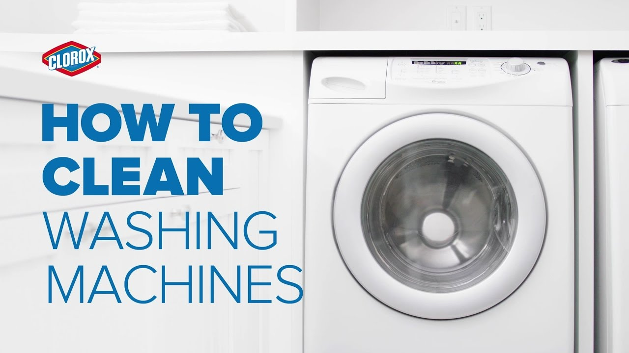 how to clean your washing machine clorox youtube. Black Bedroom Furniture Sets. Home Design Ideas