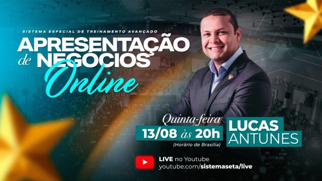 Apresentação de negócios - Lucas Antunes