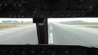 UO658 landing @ ROAH