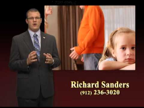 Richard Sanders talks about divorce and child custody.