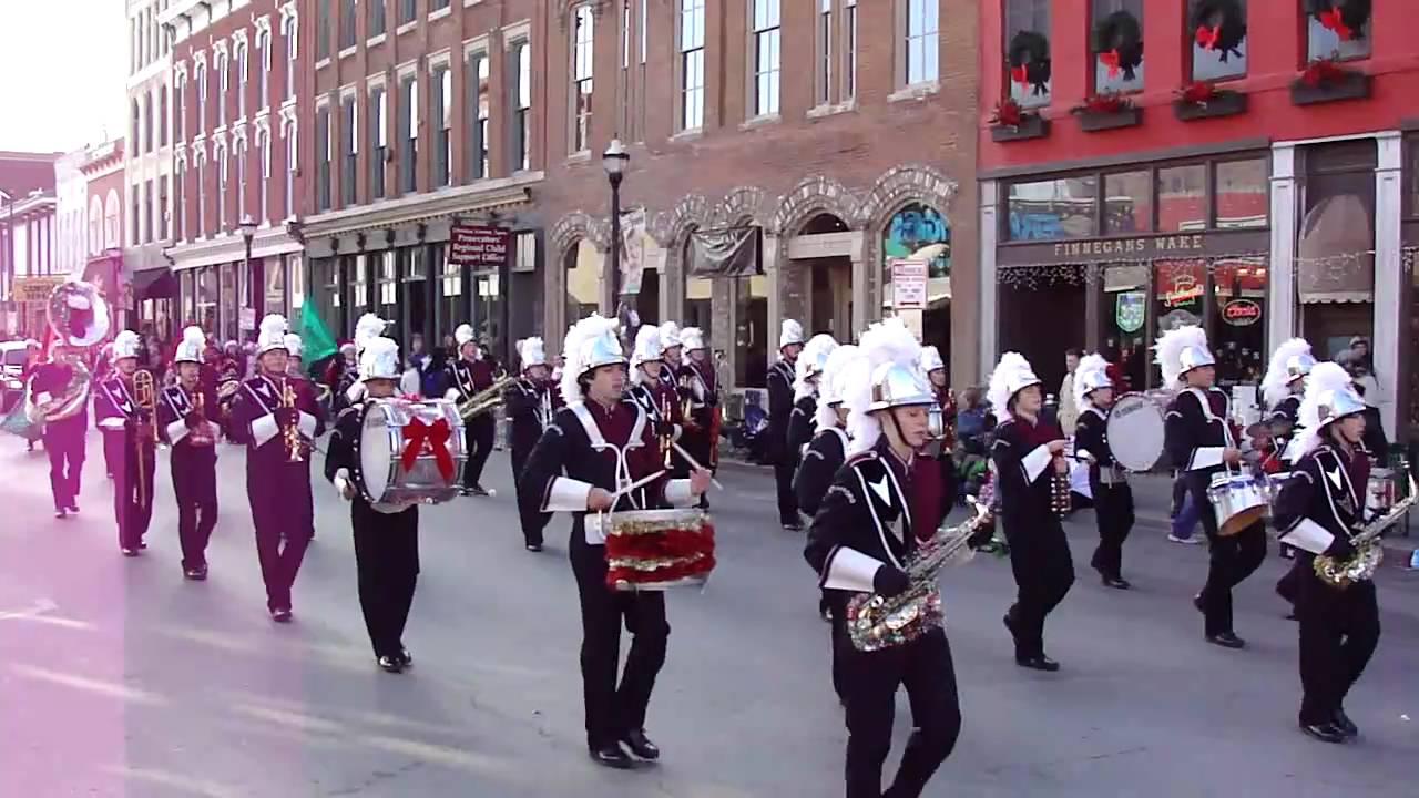 2010 Downtown Springfield Christmas Parade Missouri Strafford High ...