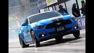 AUSTRALIA'S FASTEST SUPERCHARGED S550 MUSTANG MFP AUSTRALIA 9.64 @ 145 MPH
