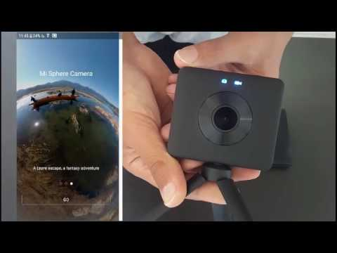רק החוצה מצלמת 360 מעלות חדשה של שיאומי - סקירה xiaomi 360 - YouTube UD-44