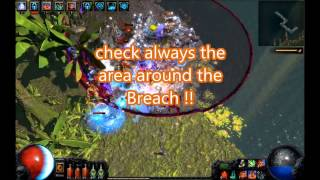 Path of Exile Breach BEST Splinter farming HD