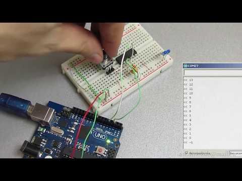 Подключаем энкодер к Arduino