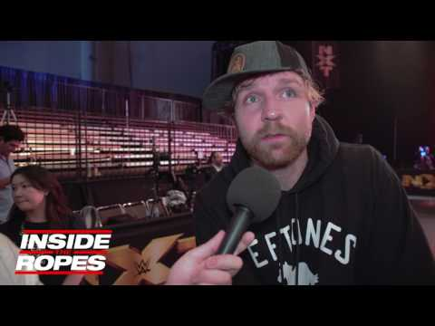 Dean Ambrose talks Renee Young getting in the ring, Brock Lesnar match & IC Title