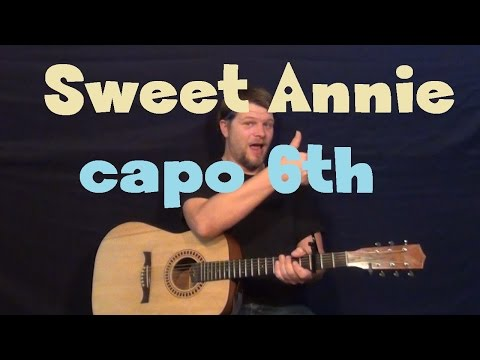 sweet-annie-(zac-brown-band)-easy-strum-guitar-lesson-how-to-play-tutorial-capo-6th