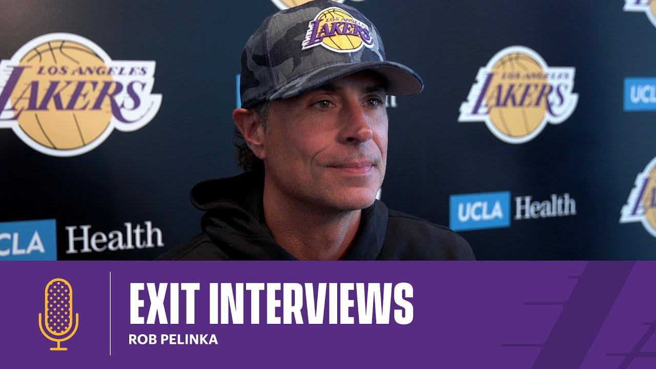 Rob Pelinka | 2020-21 Lakers Exit Interviews