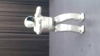 ASIMO dancing