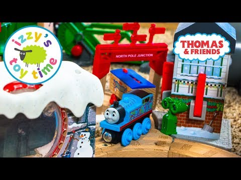 Toys for Kids | Thomas and Friends SNOW TUNNEL CHRISTMAS! Toy Trains for Children | Kids Videos
