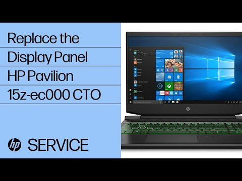 Replace the Display Panel   HP Pavilion 15z-ec000 CTO   HP
