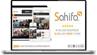 Wordpress General Settings - Sahifa Theme Customization 2017