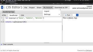 2. Javascript-array