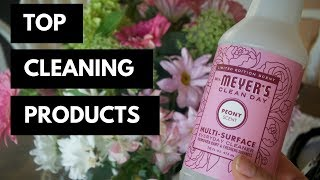 BEST CLEANING PRODUCTS 2018 || My favorite cleaning products