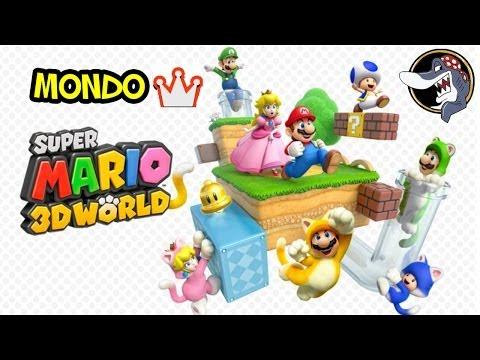 Super Mario 3D World - Walkthrough Mondo Corona (Mondo Finale)