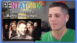 Pentatonix Reaction | [OFFICIAL VIDEO] God Rest Ye Merry Gentlemen