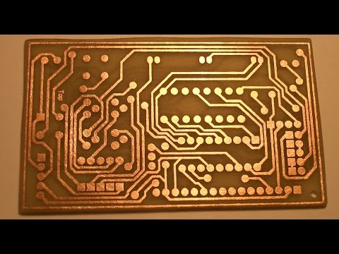 How to Make PCB using Laser Printer at Home