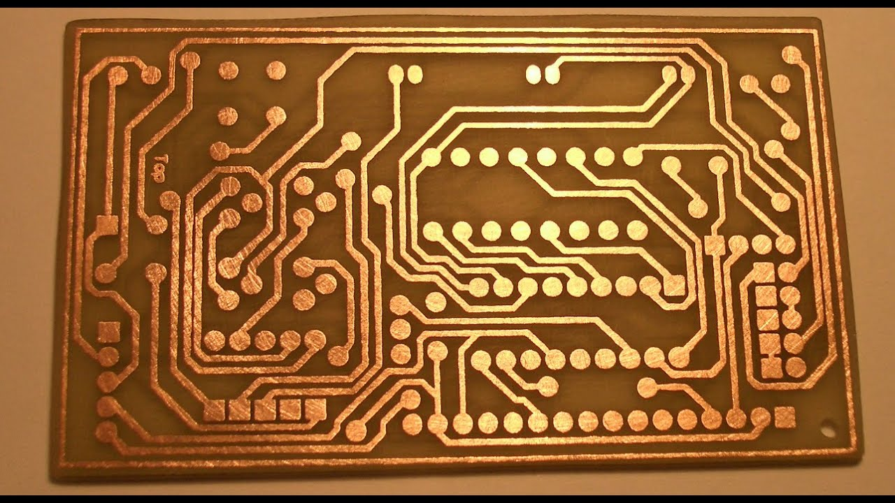 How To Make Pcb Using Laser Printer At Home Youtube High Quality Electronic Printed Circuit Board Design Manufacturer