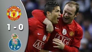 Manchester United 1-0 Porto -  UCL Quarter Finals 2009 Highlights