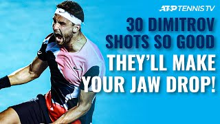 30 Grigor Dimitrov Shots SO GOOD They'll Make Your Jaw Drop!
