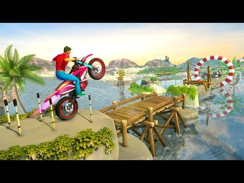 Bike Stunt Games 2018 Impossible Tracks (by MAD Extreme Viral 3D Games) Android Gameplay [HD]