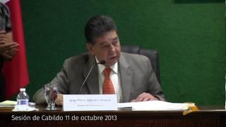 Sesión Cabildo 11 octubre 2013 Cd. Juárez Chih.