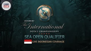 Dota 2 : Evos (INA) VS TToTT (MY) - 16 Besar @TI 7 SEA Open Qualifier #1 Day 2