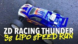 ZD Racing Thunder 10423 Truggy 3S LiPo Speed Run