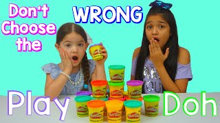 Don't Chose the wrong Play-Doh Slime Challenge