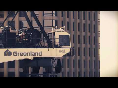 Greenland development - crane build - timelapse