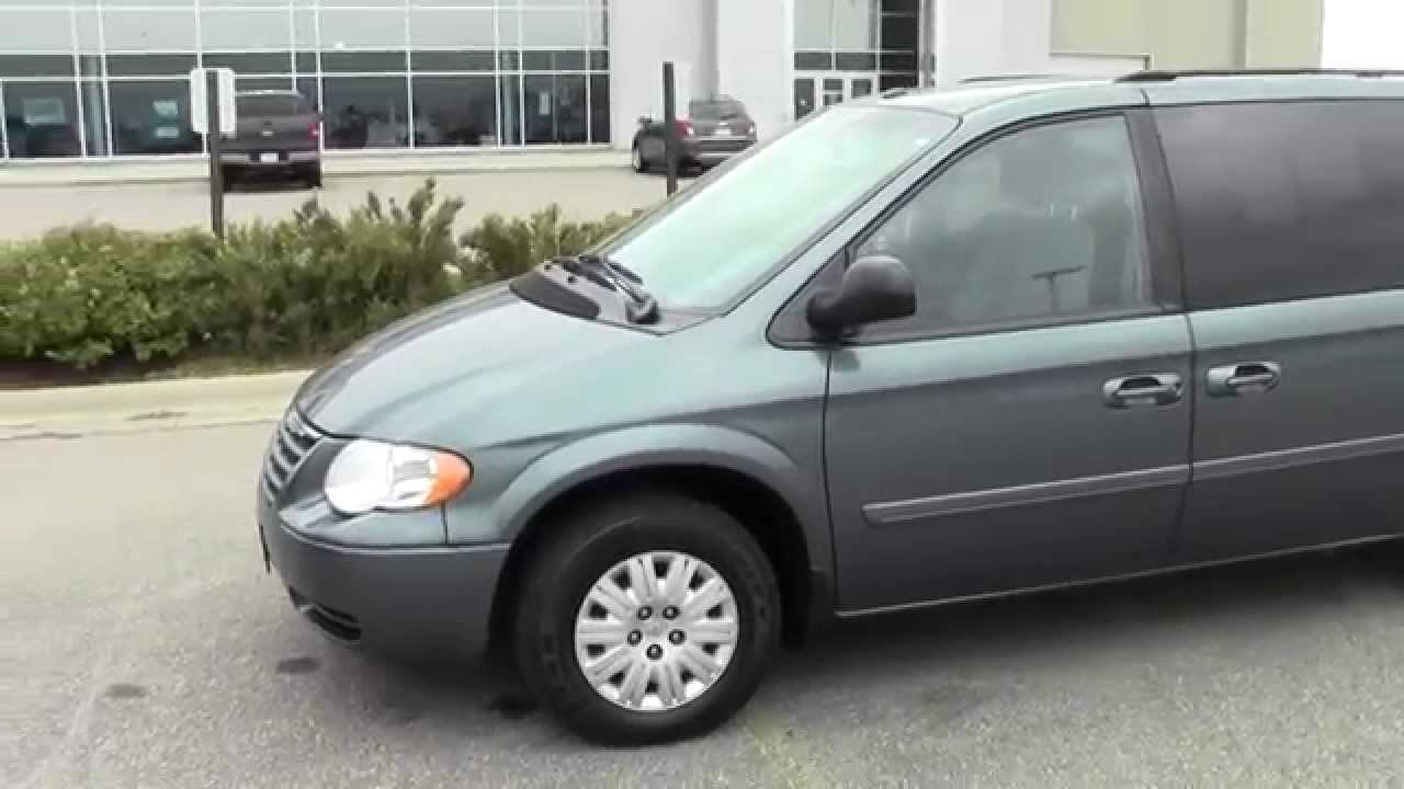 2007 chrysler town country wgn lx 3d140068a youtube. Black Bedroom Furniture Sets. Home Design Ideas