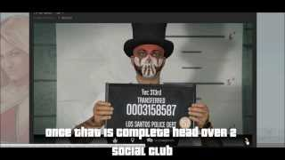 How to Get Snapmatic Photos onto Social Club in GTAV for PS4 / Xbox One